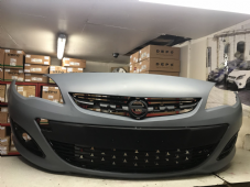 VAUXHALL  ASTRA J   FRONT BUMPER WITH  GRILLS     2013 -  2015   FACELIFT  NEW